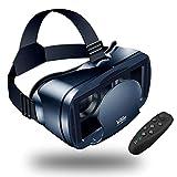 【Nuevo】 Gafas VR de Realidad Virtual,3D VR Gafas con Remoto Controlador, para...