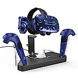 AFAITH Estación de soporte de carga magnética VR para HTC Vive & Pro, Vive...