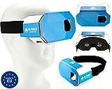 VR-PRIMUS Cardboard - Gafas de Realidad Virtual VR - Para smartphones Android y iOS...