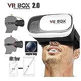 Gafas 3D VR Box Realidad Virtual Video Version Carton para 4.7'a 6' Universales