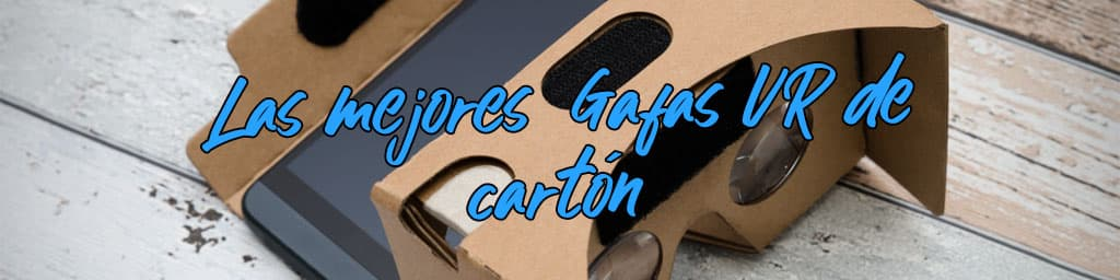 gafas realidad virtual carton